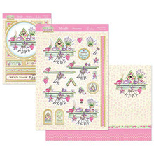 Hunkydory Crafts Springtime Wishes Deco-Large Topper Set - Welcome Home