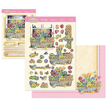 Hunkydory Crafts Springtime Wishes Deco-Large Topper Set - Grown with Love