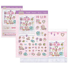 Hunkydory - Springtime Wishes Deco-Large Topper Set - Best Mum Ever!