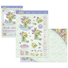 Hunkydory Crafts Springtime Wishes Deco-Large Topper Set - Bluebell Posy