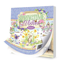 Hunkydory -The Square Little Book of Springtime Wishes