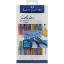 Gelatos -- Iridescent 2 - 15 Pieces - 12 color sticks and 3 tools