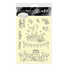 Hunkydory Crafts - for The Love of Stamps - Acorn Wood Bunny Hoppy Birthday