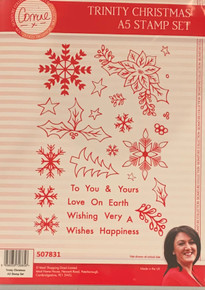 Corrine's Signature Trinity Christmas - Trinity Christmas A5 Stamp Set