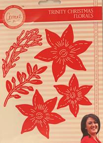 Corrine's Signature Trinity Christmas - Floral Die Set 513802
