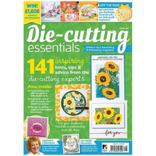 Die-Cutting Essentials Magazine Issue 66 - Summer Sunflower Panel Die