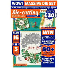 Die-Cutting Essentials Magazine Issue 69- 5-piece wreath set