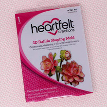 Heartfelt Creations 3D Shaping Mold Dazzling Dahlia, HCFB1 - 494