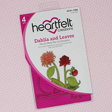Heartfelt Creations- Dahlia and Leaves Die