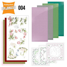 Find it Trading Hobbydots Sparkles Spring Flowers Kit SPDO004