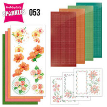 Find it Trading Hobbydots Sparkles Exotic Flowers Kit SPDO053