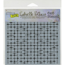 Crafters Workshop 6x6 Stencil - Tile Mania TCW662S