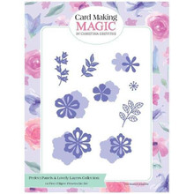 Card Making Magic Filigree Flowers - Set of 14