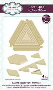 Creative Expressions- Jamie Rodgers Canvas Collection Triangle