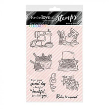 Hunkydory Crafts for The Love of Stamps - Wonderful Waterfalls- Relax & Rewind