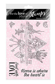 Hunkydory For The Love of Stamps - Homely Comforts