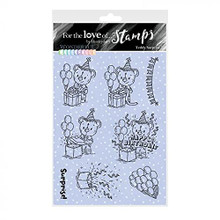 Hunkydory Crafts for The Love of Stamps - Wonderful Waterfalls- Teddy Surprise