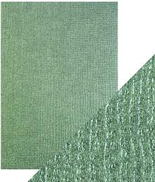 Craft Perfect Emerald Hessian A4 Specialty Card 9835e