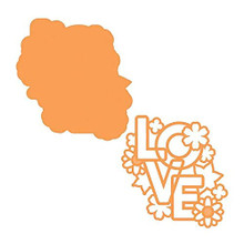 Tonic Studios- Simply Love Sentiment Die Set 3590e