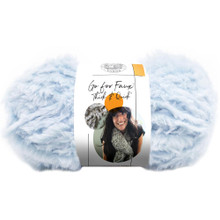 Lion Brand Yarn Go For Faux - Blue Bengal