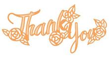 Tonic Studios- Thank You Sentiment Die Set 3851e