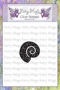 Fairy Hugs Stamp -Mini Nautilus Shell