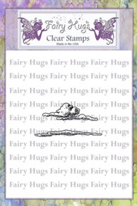 Fairy Hugs Stamp - Clouds