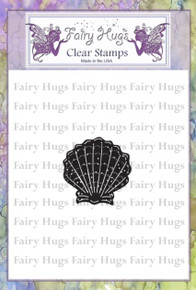 Fairy Hugs Stamp - Mini Scallop Shell