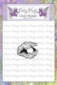 Fairy Hugs Stamp - Oyster With Pearl