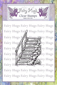 Fairy Hugs Stamp - Forest Steps