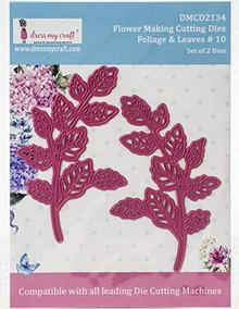 Dress My Craft Dies-Flower Making-Foliage & Leaves #10