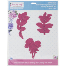 Dress My Craft Flower Making Cutting Dies Rounded Leaves