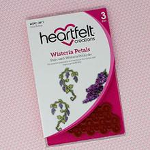 HEARTFELT CREATIONS Cling RUBBR STMP Set, Wisteria Petals, Cascading Petals