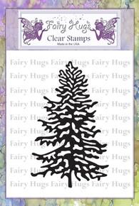 Fairy Hugs Stamp - Snowy Fir