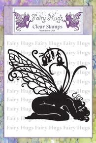 Fairy Hugs Stamp - Blue Bell