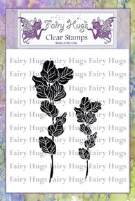 Fairy Hugs Stamp - Wild Leaves