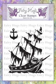 Fairy Hugs Stamp - Sunken Ship