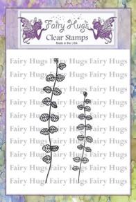 Fairy Hugs Stamp - Leafy Stalks