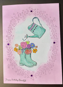 Live Stream Class --Hunkydory Box Kit 7 -- Stamping Die Cutting & Embossing