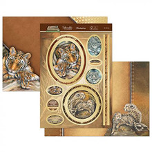 Hunkydory Crafts Animal Kingdom Topper Set - Be Strong