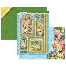 Hunkydory Crafts Welcome to Fairyland Topper Set - Amongst The Flowers