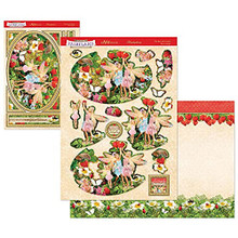 Hunkydory Crafts Welcome to Fairyland Mirri Magic Deco-Large Set - The Best of Friends
