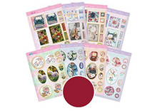 Hunkydory - Hers Pyramount Topper Collection - A4-300gsm - 16 Sheets