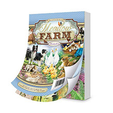 Hunkydory Crafts A6 The Little Book of Meadow Farm