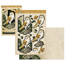 Hunkydory Crafts Meadow Farm Deco-Large Topper Set - A Wise Old Owl