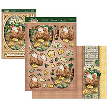 Hunkydory Crafts Meadow Farm Deco-Large - Mother Hen