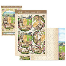 Hunkydory Crafts Meadow Farm Deco-Large - Play Time