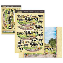 Hunkydory Crafts Meadow Farm Deco-Large Topper Set - The Farmyard