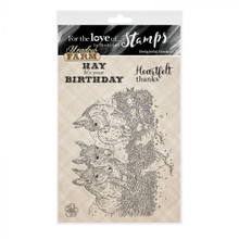 Hunkydory -For the Love of Stamps- A6 stamp- Meadow Farm- Delightful Donkeys