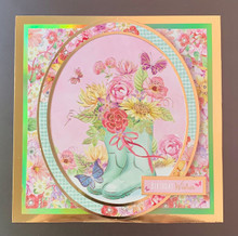Live Stream Class --Margie Hunkydory Box Kit 7 --WEEK 3 CArd CLass -- REQUIRES Week 1 KIT
